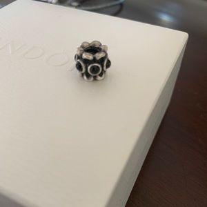 Authentic Pandora black onyx charm